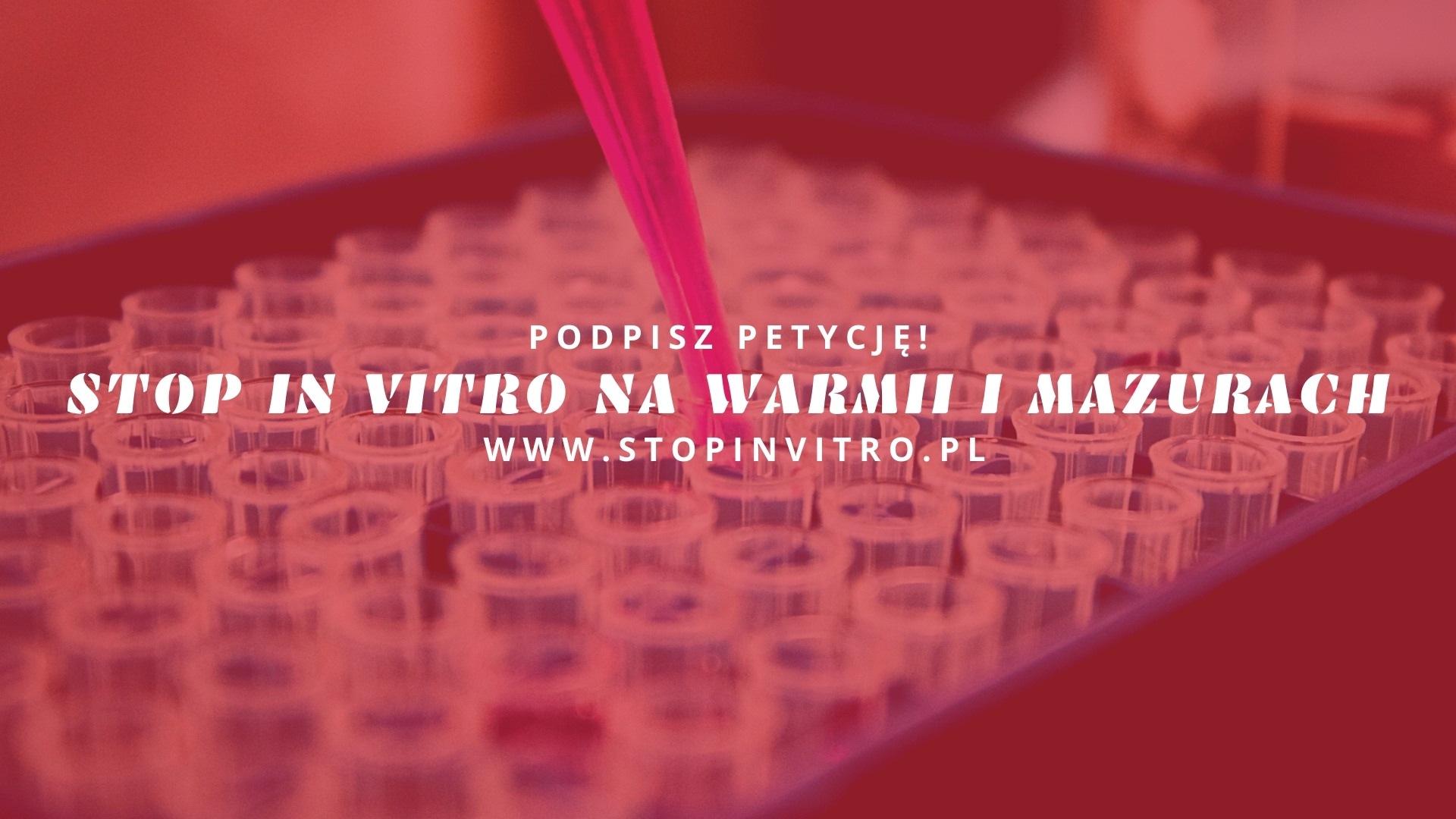 stop in vitro na warmii i mazurach